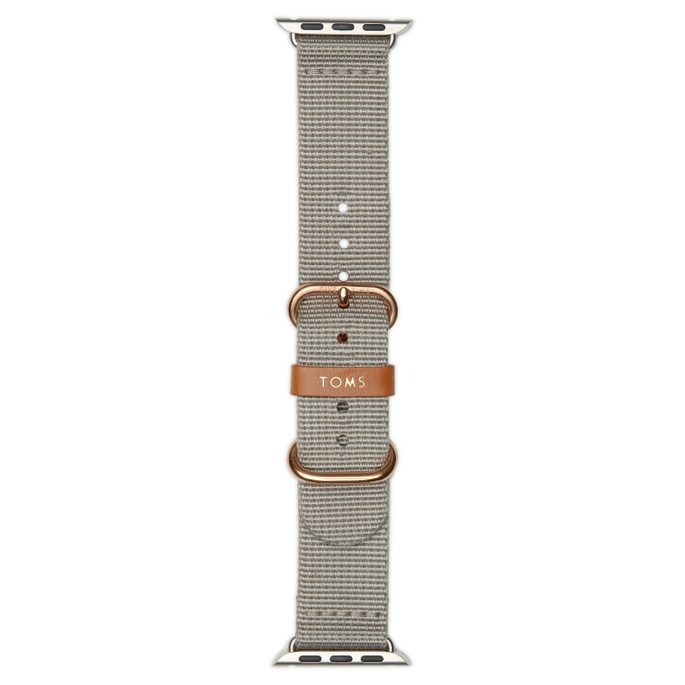 Toms Solid Apple Watch Band 42mm - Gray, Kids Unisex
