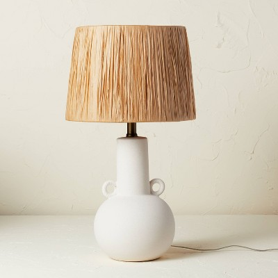 Double Handle Ceramic Table Lamp (Includes LED Light Bulb) - Opalhouse™ designed with Jungalow™