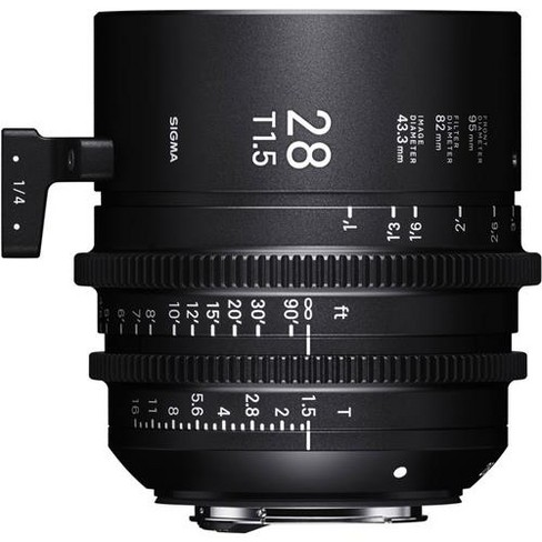 Sigma 28mm T1.5 FF High-Speed Prime Cine Lens, Feet, Sony E Mount - image 1 of 1