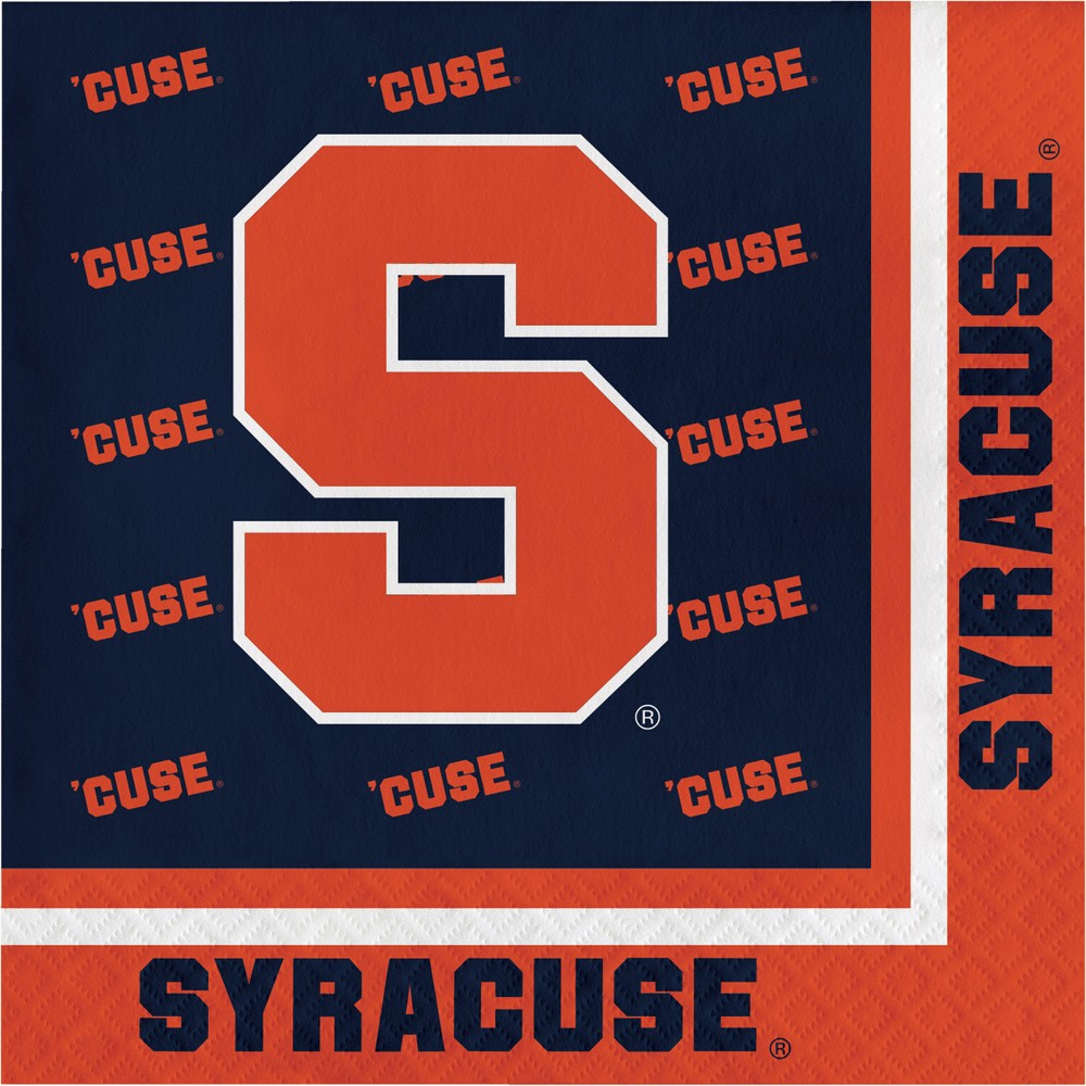 Image of 20ct Syracuse Orange Napkins