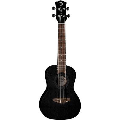 Luna Guitars Vintage Mahogany Concert Ukulele Satin Black