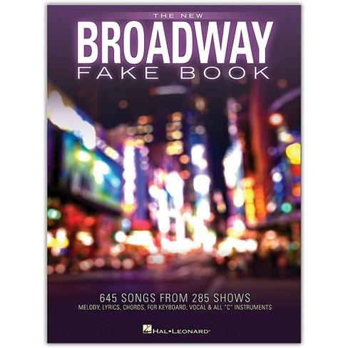 Hal Leonard The New Broadway Fake Book - image 1 of 1