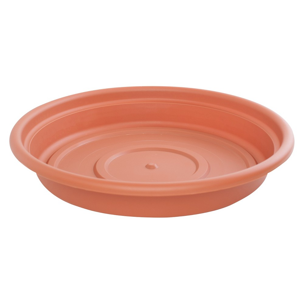 "Image of ""12"""" Dura Cotta Saucer - TerraCotta - Bloem"""