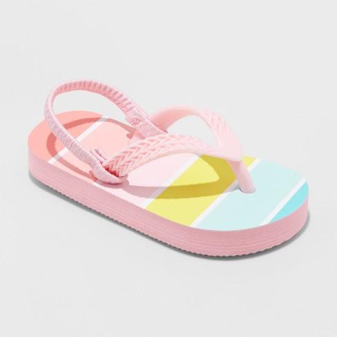 f28fee3c5e9 Toddler Girls  Keira Flip Flops Sandals- Cat   Jack   Target