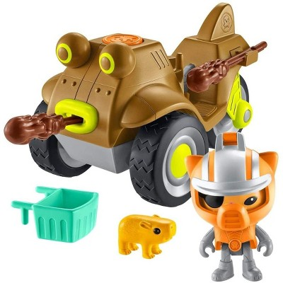 Fisher-Price Octonauts Gup-M & Kwazii Vehicle & Figure Playset