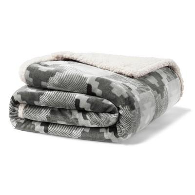 Copper Creek Throw Blanket Gray - Eddie Bauer