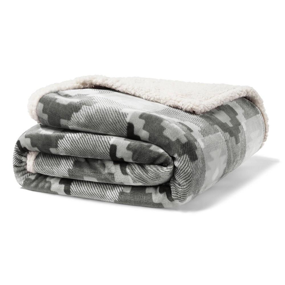 Image of Copper Creek Throw Blanket Gray - Eddie Bauer