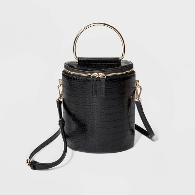 Top Handle Crossbody Bag   Who What Wear Black by Who What Wear Black