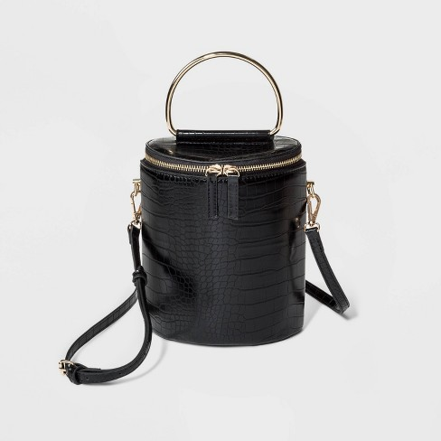 Top Handle Crossbody Bag - Who What Wear™ Black - image 1 of 3