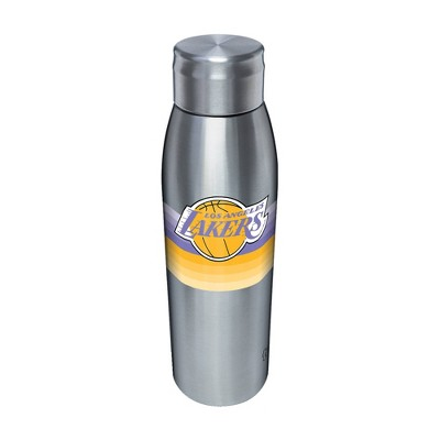 NBA Los Angeles Lakers 17oz Retro Stripe Stainless Water Bottle