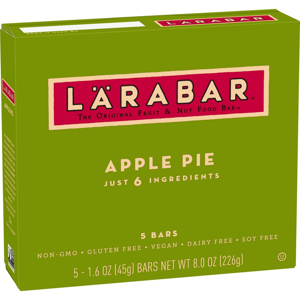Larabar Apple Pie Fruit & Nut Food Bars - 5ct