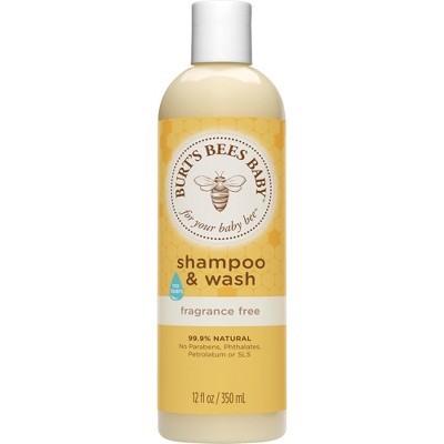 Burt's Bees Baby Bee Fragrance Free Shampoo & Wash - 12 oz