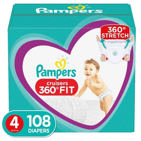 Pampers Cruisers 360 Disposable Diapers Enormous Pack (Select Size) - image 1 of 4