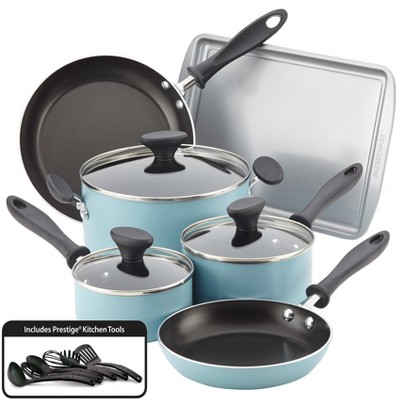 Farberware Reliance 15pc Cookware and Bakeware Set Aqua