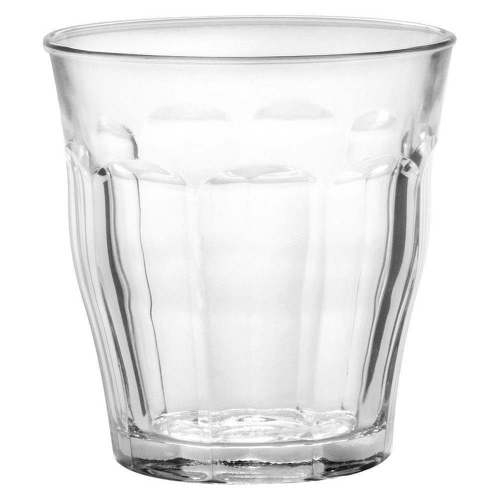 Image of Duralex - Picardie 10 7/8 oz Glass Set of 6 - Clear