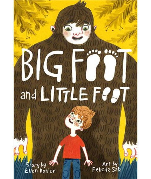 Big Foot and Little Foot -  Reprint (Big Foot and Little Foot) by Ellen Potter (Paperback) - image 1 of 1
