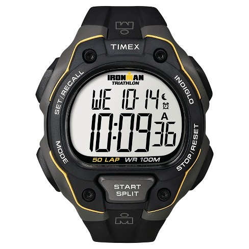 Men's Timex Ironman®  Classic 50 Lap Digital Watch - Black T5K4949J - image 1 of 1