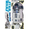 RoomMates Star Wars Classic R2D2 Peel & Stick Giant Wall Decal - image 4 of 4