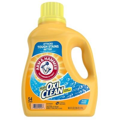 Arm & Hammer Plus OxiClean Fresh Scent Liquid Laundry Detergent