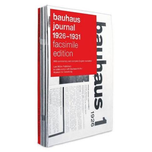 Bauhaus Journal 1926-1931 - (Paperback) - image 1 of 1