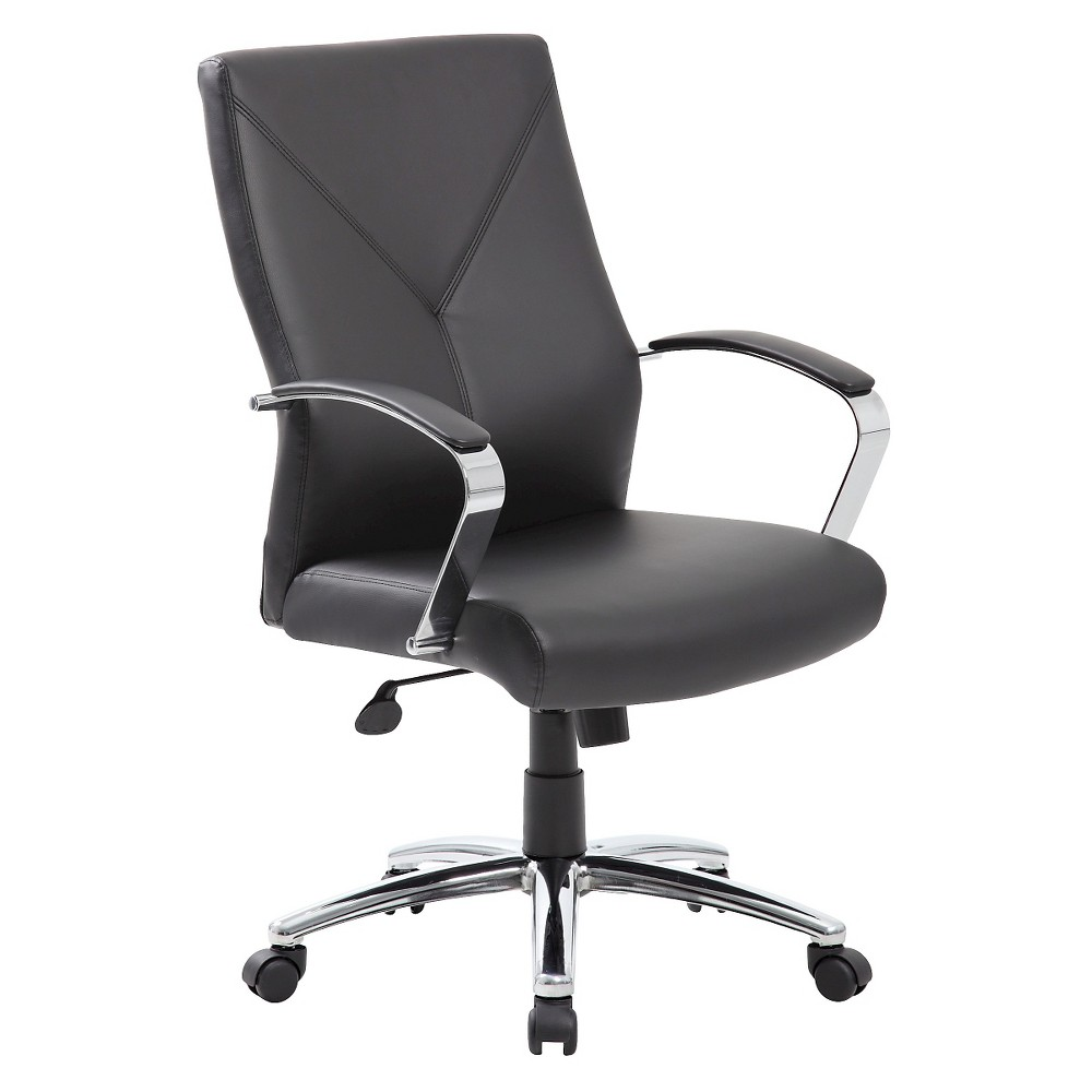 Image of Executive Office Chair Black - Boss Office Products
