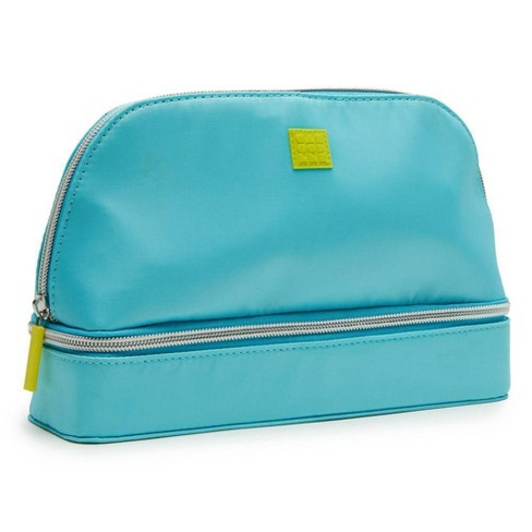 Caboodles Jewelry Cosmetic Bag Teal
