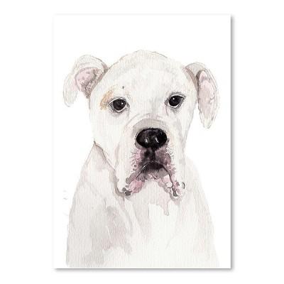 Americanflat American Bulldog by Cami Monet Poster
