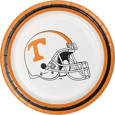 8ct Tennessee Volunteers Dessert Plates