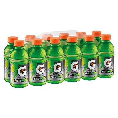 Gatorade Fierce Green Apple Sports Drink - 12pk/12 fl oz Bottles