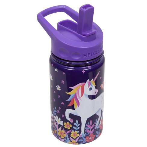 FIFTY/FIFTY 12oz - Unicorn with Straw Cap - image 1 of 4