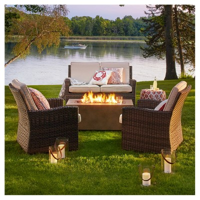 Summer Evening by the Fire Pit Patio Collection
