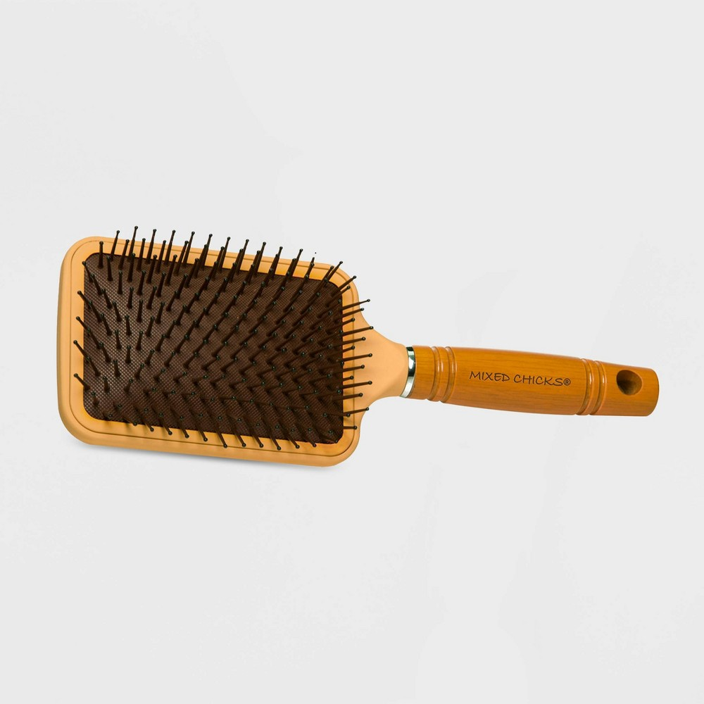 Image of Mixed Chicks Paddle Hair Brush, Beige