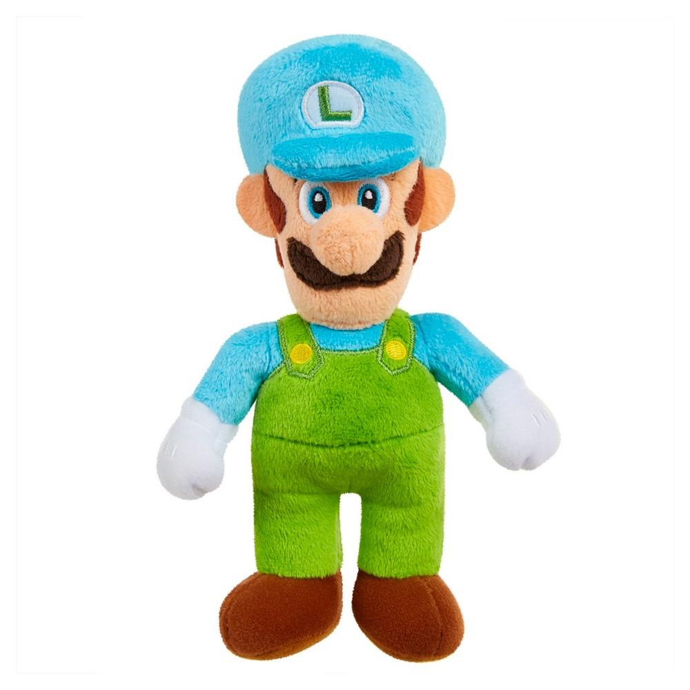 Super Mario Mini Plush Ice Luigi
