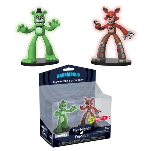 HeroWorld: Five Nights at Freddy's 2pk - Freddy & Foxy - image 1 of 1