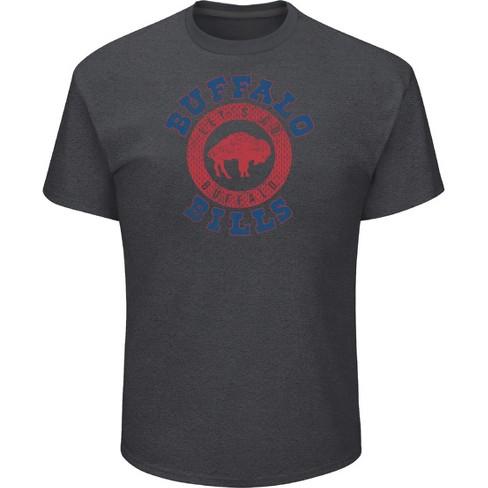 NFL Buffalo Bills Men s Startling Success Gray Soft Touch T-Shirt ... d91c874fb