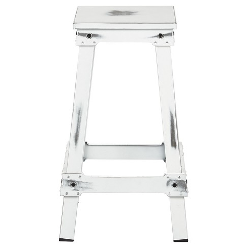 New Castle 26 Barstool Metalantique White Office Star