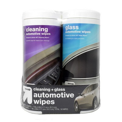 2pk Automotive Interior Cleaner Auto Wipes - up & up™