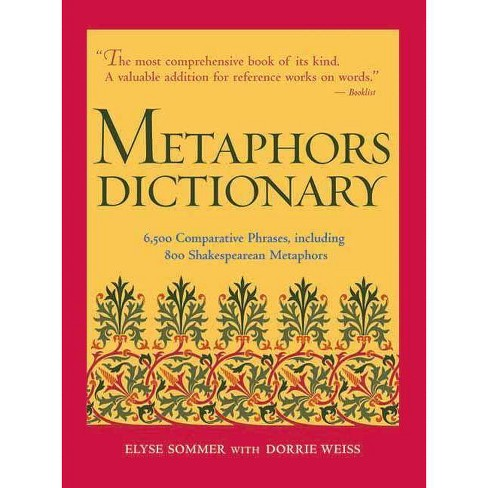 Metaphors Dictionary - (Hardcover) - image 1 of 1