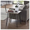 Heywood Retro End Table - Distressed Gray Oak/Gray - Room & Joy - image 4 of 4