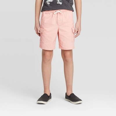 Boys' Pull-On Cargo Shorts - Cat & Jack™ Pink