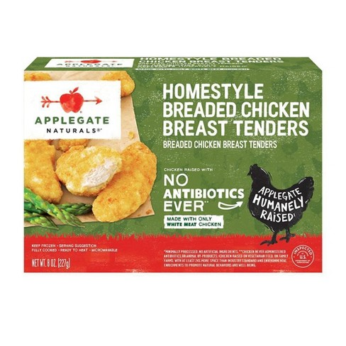 Applegate Natural Homestyle Frozen Chicken Tenders - 8oz - image 1 of 3