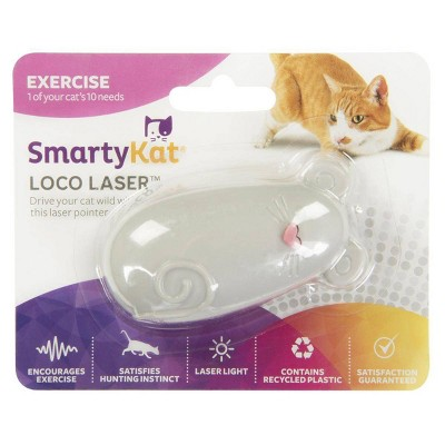 SmartyKat Loco Laser Electronic Cat Toy