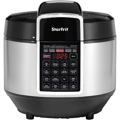 Starfrit Electric Pressure Cooker - Black