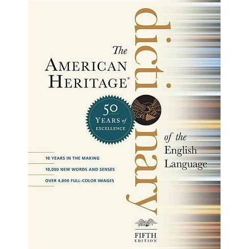 The American Heritage Dictionary of the English Language, Fifth Edition - (Hardcover) - image 1 of 1