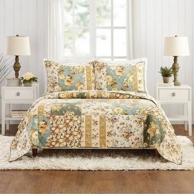 Floral Patch Quilt Set - Modern Heirloom