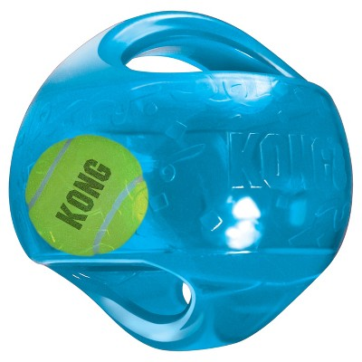 KONG Jumbler Interactive Dog Toy - Blue - M/L