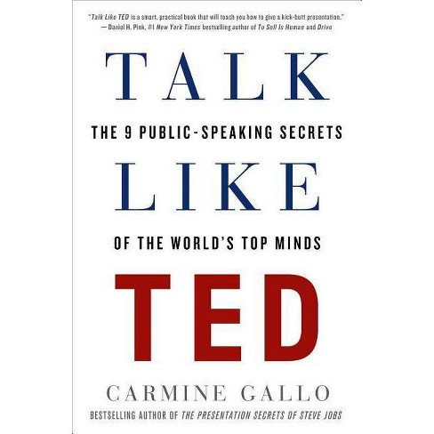 Talk Like Ted - by  Carmine Gallo (Paperback) - image 1 of 1