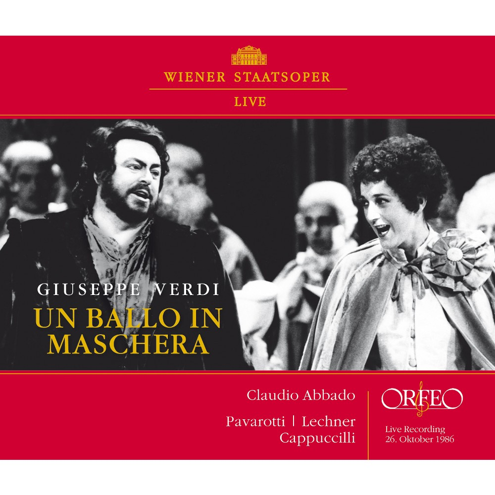 Claudio Abbado - Verdi:Un Ballo In Maschera (CD)