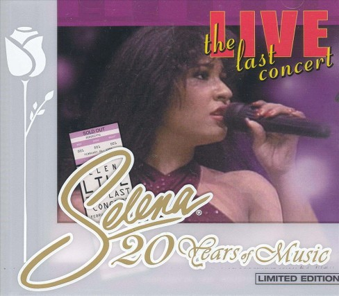 Selena - Selena live-the last concert (CD) - image 1 of 1