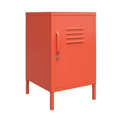 Cache Metal Locker End Table - Novogratz